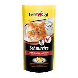 GIMPET Schnurries taurin+kuře 40g