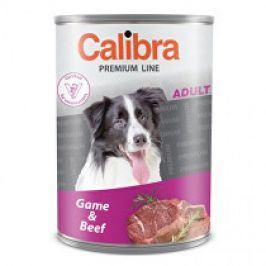 Calibra Dog  konz.Premium Adult zvěřina+hovězí 800g 5+1 zdarma (do vyprodání)