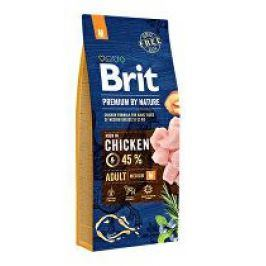 Brit Premium Dog by Nature Adult M 15kg + Množstevní sleva