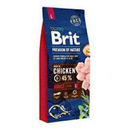 Brit Premium Dog by Nature Adult L 15kg + Doprava zdarma