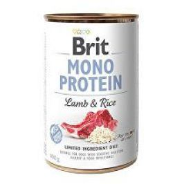 Brit Dog konz Mono Protein Lamb & Brown Rice 400g