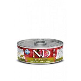 N&D GF CAT QUINOA Duck & Coconut 80g 1+1 zdarma ( do vyprodání)
