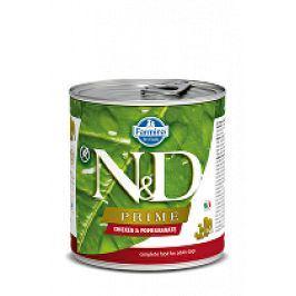 N&D DOG PRIME Adult Chicken & Pomegranate 285g 1+1 zdarma ( do vyprodání)
