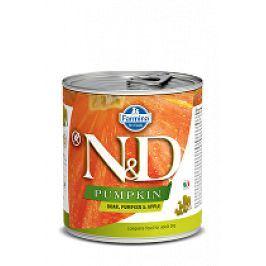 N&D DOG PUMPKIN Adult Boar & Apple 285g 1+1 zdarma ( do vyprodání)