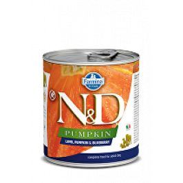 N&D DOG PUMPKIN Adult Lamb & Blueberry 285g 1+1 zdarma ( do vyprodání)