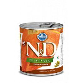 N&D DOG PUMPKIN Adult Venison & Pumpkin 285g 1+1 zdarma ( do vyprodání)