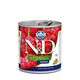 N&D DOG QUINOA Digestion Lamb & Fennel 285g 1+1 zdarma ( do vyprodání)