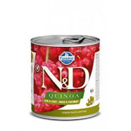 N&D DOG QUINOA Duck & Coconut 285g 1+1 zdarma ( do vyprodání)