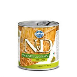 N&D DOG LOW GRAIN Adult Boar & Apple 285g 1+1 zdarma ( do vyprodání)