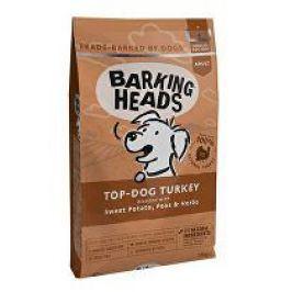 BARKING HEADS Top Dog Turkey 12kg + batůžek (do vyprodání)