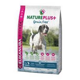 Eukanuba Dog Nature Plus Adult Grain Free Salmon 2,3kg