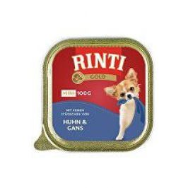 Rinti Dog vanička Gold Mini kuře+husa 100g