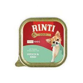 Rinti Dog vanička Gold Mini jelen+hovězí 100g
