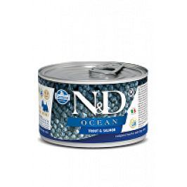 N&D DOG OCEAN Adult Trout & Salmon Mini 140g 1+1 zdarma ( do vyprodání)