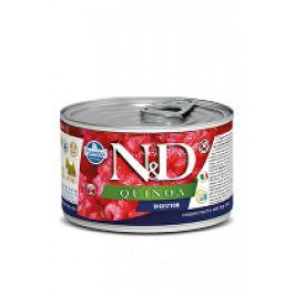 N&D DOG QUINOA Digestion Lamb & Fennel Mini 140g 1+1 zdarma ( do vyprodání)