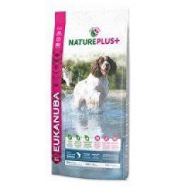 Eukanuba Dog Nature Plus+ Adult Med. froz Salm 10kg