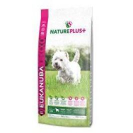Eukanuba Dog Nature Plus+ Adult Small froz Lamb 10kg + pelech (do vyprodání)