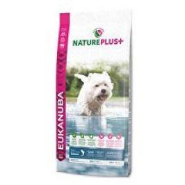 Eukanuba Dog Nature Plus+ Adult Small froz Salm 10kg + pelech (do vyprodání)