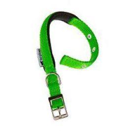 Obojek nylon DAYTONA C 35cmx15mm zelený FP 1ks