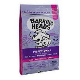BARKING HEADS Puppy Days NEW (Large Breed)12kg + batůžek (do vyprodání)