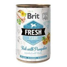 Brit Dog Fresh konz Fish with Pumpkin 400g