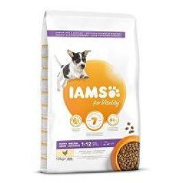 Iams Dog Puppy Small&Medium Chicken 12kg