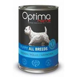 Optima Nova Dog Puppy chicken konzerva 400g