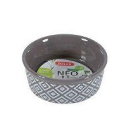 Miska keramická NEO hlodavec 250ml hnědá Zolux