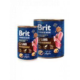 Brit Premium Dog by Nature  konz Lamb & Buckwheat 800g