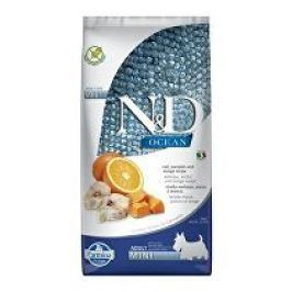 N&D OCEAN DOG LG Adult Mini Codfish & Orange 7kg