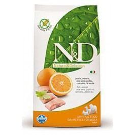 N&D Grain Free DOG Adult Mini Fish & Orange 7kg + Doprava zdarma + Množstevní sleva