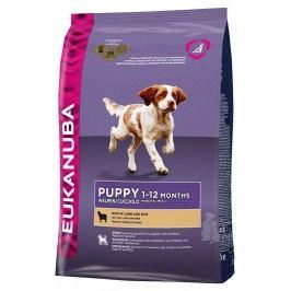 Eukanuba Dog Puppy&Junior Lamb&Rice 12kg + pelech (do vyprodání)