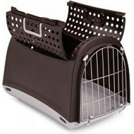Přepravka pro kočky a psy Cabrio Hnědá Argi