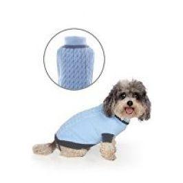 Svetr Liverpool pro psy modrý 45cm