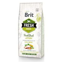 Brit Dog Fresh Duck & Millet Active Run & Work 2,5kg