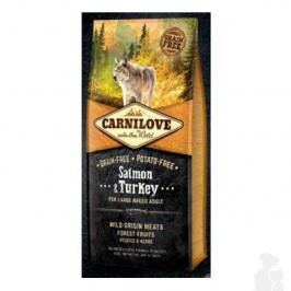 Carnilove Dog Salmon & Turkey for LB Adult  1,5kg