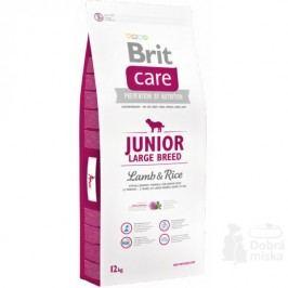 Brit Care Dog Junior Large Breed Lamb & Rice 12kg + Množstevní sleva