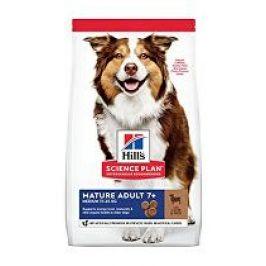 Hill's Can.Dry SP Mature Adult7+ Medium Lamb&Rice 14kg