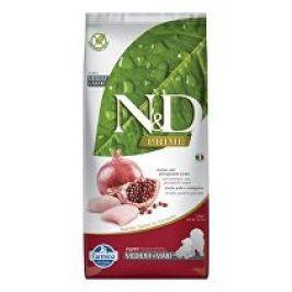 N&D PRIME DOG Puppy M/L Chicken & Pomegranate 12kg