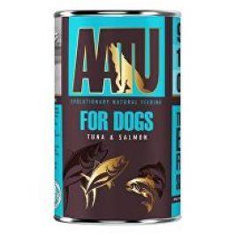 AATU Dog Tuna n Salmon konz. 400g 3+1 zdarma (do vyprodání)