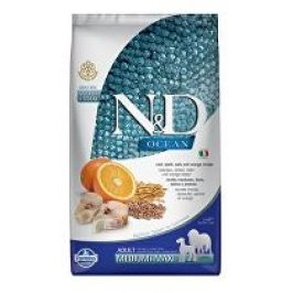 N&D OCEAN DOG LG Adult M/L Codfish & Orange 2,5kg