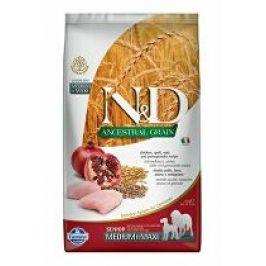 N&D LG DOG Senior M/L Chicken & Pomegr 2,5kg