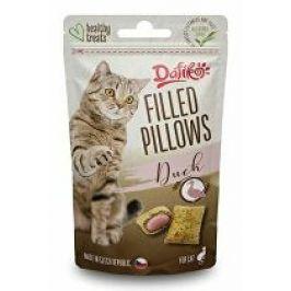 Dafíko plněné polštářky pro kočky kachní 40g