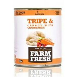Farm Fresh Dog Tripe&Carrot with Cranberries konz 800g
