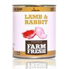 Farm Fresh Dog Lamb&Rabbit konzerva 800g