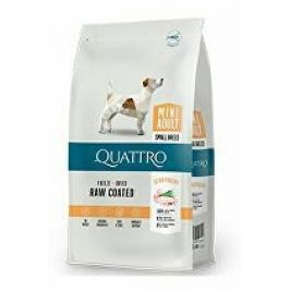 QUATTRO Dog Dry Premium Mini Adult Drůbež 7kg