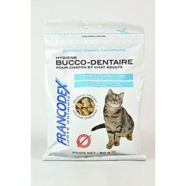 Francodex Pochoutka Breath Dental kočka 60g