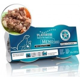 Platinum Menu Mini Fish+Chicken 4x100g