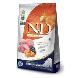 N&D GF Pumpkin DOG Puppy M/L Lamb & Blueberry 12kg + Doprava zdarma
