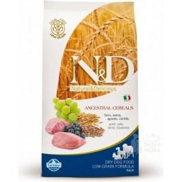 N&D LG DOG Puppy M/L Lamb & Blueberry 12kg + Doprava zdarma